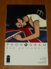 Phonogram Vol 1 Rue Britannia by Kieron Gillen (Paperback, 2007)< 9781582406947