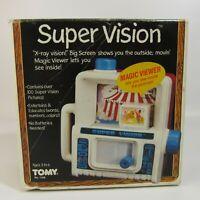 Vintage Tomy Super Vision 1985 Magic Viewer Original Box