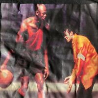 Vintage Michael Jordan & Michael Jackson Shirt Mike & Mike Men's 2XL
