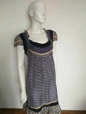 NOA NOA short sleeve dress sensitive silk size L