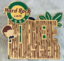 Hard Rock Cafe ONLINE 2009 TREE HUGGER with HRC Logo PIN - LE 50 HRO #49841