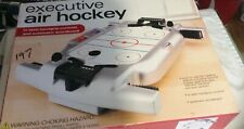 New In Box Executive Table top Air Hockey Electronic Special Effects