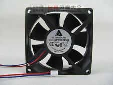 DELTA AFB0824VH Cooing fan 24V 0.19A 2-Pin 80x80x25mm