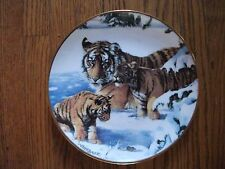 Franklin Mint Royal Doulton Playing Cat & Mouse Collector Plate Tiger Limited Ed
