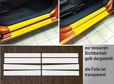 Lackschutzfolie transparent Einstiege Türen für VW Caddy 4, 4-Türer, ab 2015