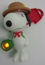 McDonalds Scout Snoopy Peanuts Dangle Action Figure Toy 2018 Boys Girls