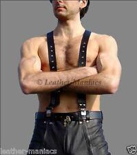 cuir bretelles pour Pantalon Accolades avec clips bretelles cuir cuir