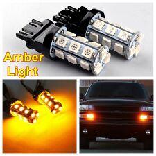 2x T25 3457 3157 Amber P27/7W LED Signal Standlicht Rücklicht Blinklicht Blinker