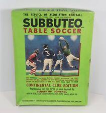 Subbuteo Soccer Game Complete Continental Club VIP Presentation Corner Kickers