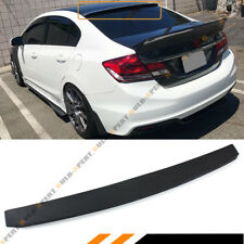 FOR 2006-15 HONDA CIVIC 8TH 9TH GEN 4 DR SEDAN JDM  REAR WINDOW ROOF TOP SPOILER