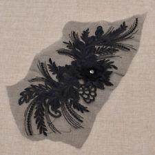 Fashion Big Lace Flower Embroidery Sewing Applique Trim Decor Accessories 1 Pc