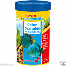 Discus Fish Food Sera Discus Color Blue 250 ml FREE USA SHIPPING