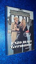 ENZO BIAGI:GERMANIE.LA GEOGRAFIA RIZZOLI N.4.FEBBRAIO 1980 COP.RIGIDA!COFANETTO