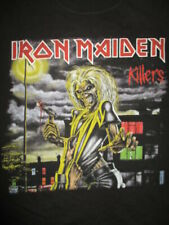 "Retro 2010 IRON MAIDEN ""KILLERS"" Concert Tour (MED) T-Shirt"