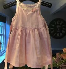 Laura Ashley girls dress Pink and White Age 18 Months