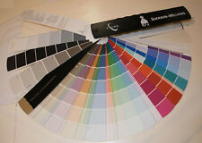 2011 SHERWIN WILLIAMS'S PROFESSIONAL COLOR FAN DECK! BIG PAINT CHIPS SAMPLE BOOK
