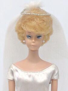Vintage Barbie Bubblecut - White Ginger - Low Oxidation