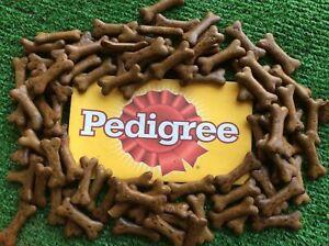 pedigree gravy bones original 1kg treat/reward bone shaped biscuits