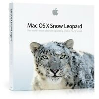 Apple X Snow Leopard 10.6.3 Mac OS X  OSX 10.6 factory reset Install DVD