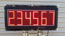 """6"""" LED DIGITS REMOTE DISPLAY - SCORE BOARD - ATTACH TO YOUR SCALE - MADE IN USA"""