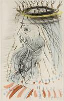 Salvador DALI Original Limited Edition Hand Signed Etching King Solomon Songs
