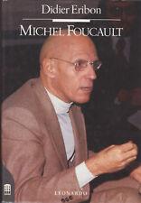Didier Eribon. Michel Foucault. 1°ediz. Leonardo, 1991