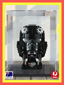 LEGO Star Wars™ TIE Fighter Pilot™ Helmet 75274 Acrylic Display Box. [AU STOCK]