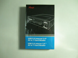 """New Rosewill USB 2.0 Internal 3.5"""" All in 1 Card Reader"""