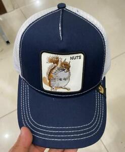 Goorin Bros Baseball Cap Trucker Snapback Hat Adjustable Animal NUTS