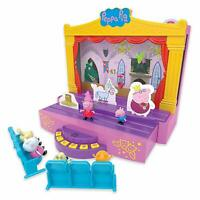 Peppa Pig Peppa's Stage Playset Figures & Accessories & Sound Cinema Toy