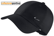 Cappellino Cappello Nike Metal Swoosh Heritage 86 - 943092-010 Col. Nero