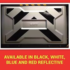 2pt REFLECTIVE VARIO PANNIER PANNELS TO FIT BMW R1200GS PANNIERS STICKERS