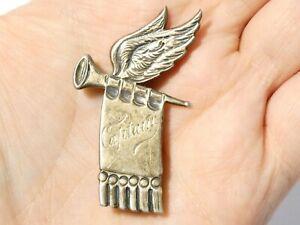 Sunderland Silver St. Gabriel's Sunday School CAPTAIN Badge Brooch #V128