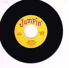 Googie Rene-Big Foot B/W Johnny dos voz Superman (Jumpin 'R&B Doble Spinner