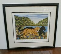 Branko Paradis African Animals Limited Edition Lithograph Tiger FRIENDS Signed