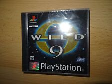 Wild 9 (Sony PlayStation 1 pal version ps1 new sealed
