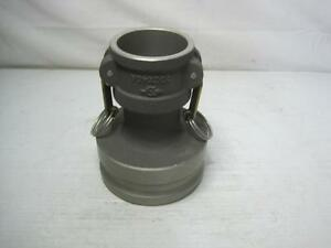 """9566 Camlock Reducer Coupling 20C X 40A 20Cx40A MS490W19 2"""" Coupler X 4"""" Adapter"""