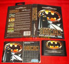 BATMAN Sega Mega Drive MegaDrive Versione Europea PAL ○ COMPLETO - CN
