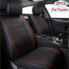 Universal Pu Leather Front Car Seat Cover Fit for Toyota CHR RAV4 Tacoma 4runner