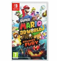 Super Mario 3D World & Bowser's Fury - HD VIDEO GAME NINTENDO SWITCH FREE FAST P