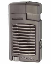 XiKAR 523G2 Forte Single Torch Flame Cigar Cigarette Lighter Gunmetal Warranty