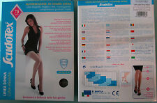 Autoreggenti 70 denari Scudotex compressione media 15-18 mmHg stanchezza gambe