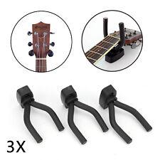 BSX Gitarrenwandhalter schwarz f alle GitarrenNeu
