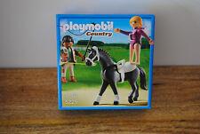 Boite Playmobil COUNTRY NEUVE thème cheval, équitation ref : 5229 jamais ouverte