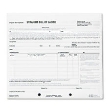 Rediform Bill of Lading Short Form 8 1/2 x 7 Three-Part Carbonless 250 Forms