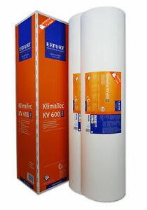 2x Erfurt KlimaTec KV 600 Pro 15x1m Thermovlies 4 mm Innendämmung