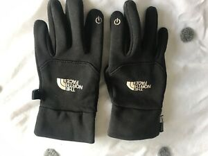 North Face Black Youth/Junior Gloves