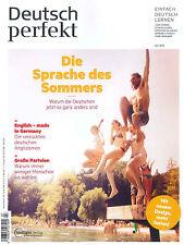 Deutsch perfekt, Heft Juli 07/2016: Die Sprache des Sommers  +++ wie neu +++