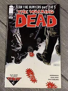 The Walking Dead 63 Kirkman Zombies horror Image Comic Rick Grimes Chew NM+ 9.6
