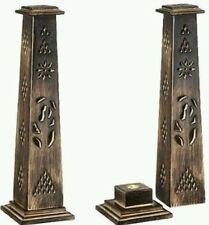 Incense stick holder wooden tower stand (FREE SHIPPING)